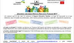 Espacio Educativo Familiar 2017