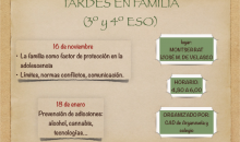"""""""Tardes en Familia"""" (3º y 4º de ESO)"""